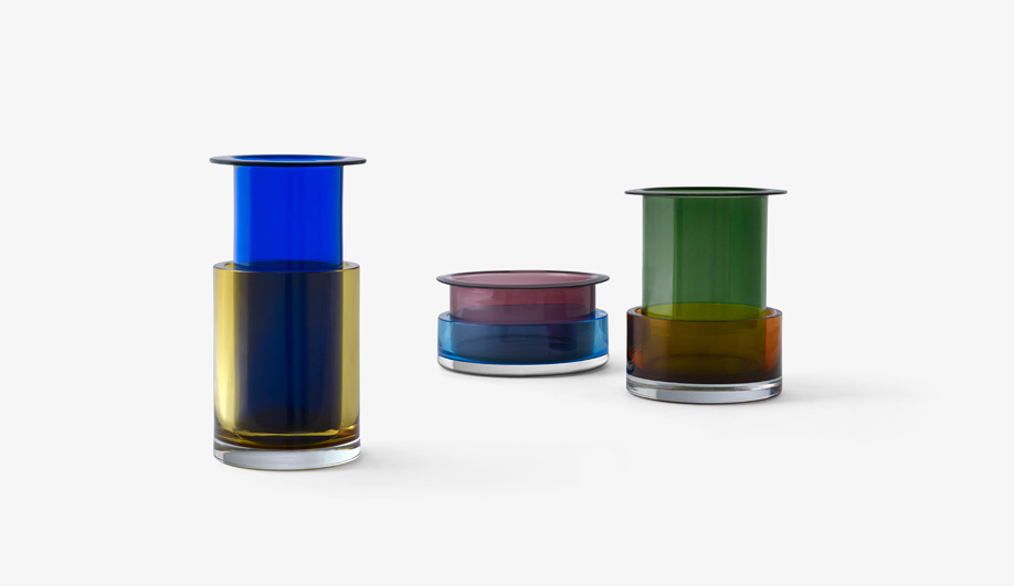 Tricolore Vases by &Tradition