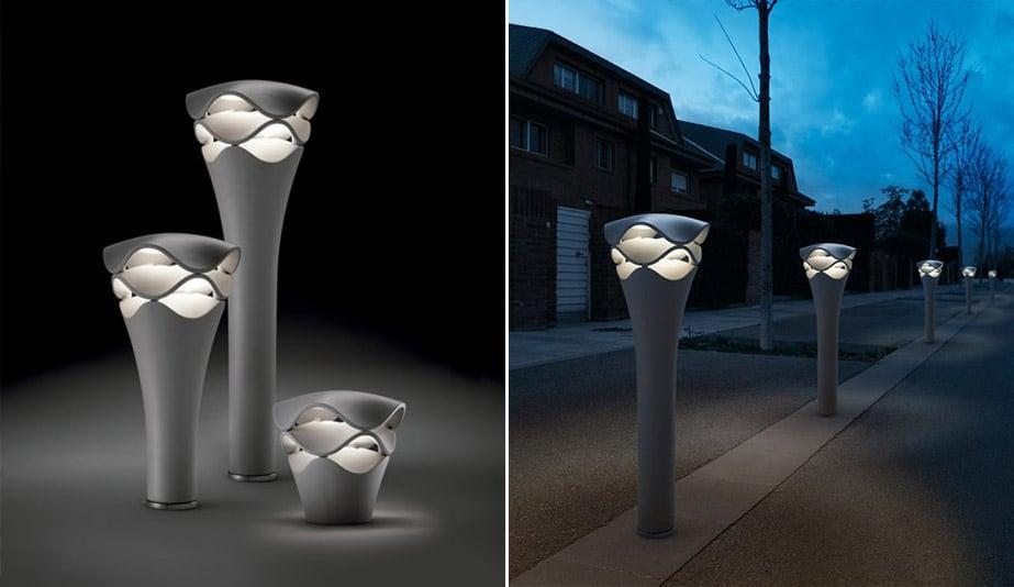 Cornet Bollard Lamp by Bover
