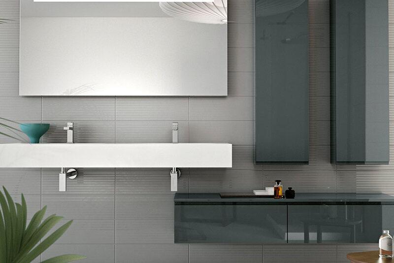 Linear Countertops by Hastings Tile & Bath
