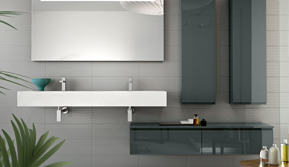 Linear Countertops by Hastings Tile & Bath