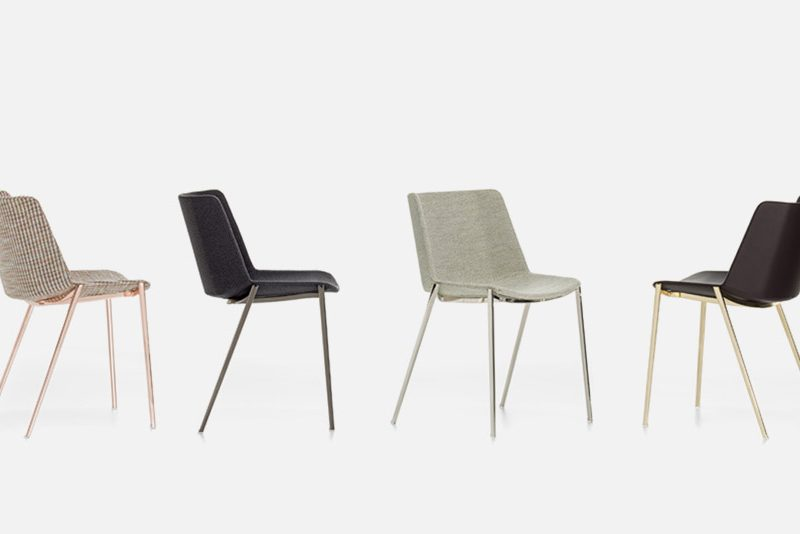 Aïko Soft Chair by MDF Italia