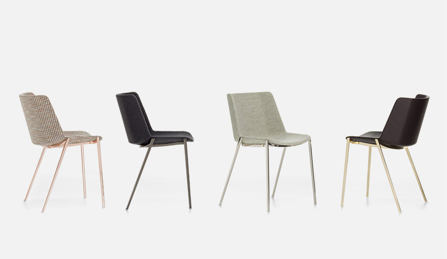 Aïku Soft Chair by MDF Italia