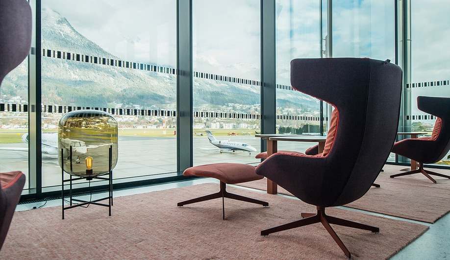 Airport Lounge Innsbruck by Nina Mair Architecture + Design