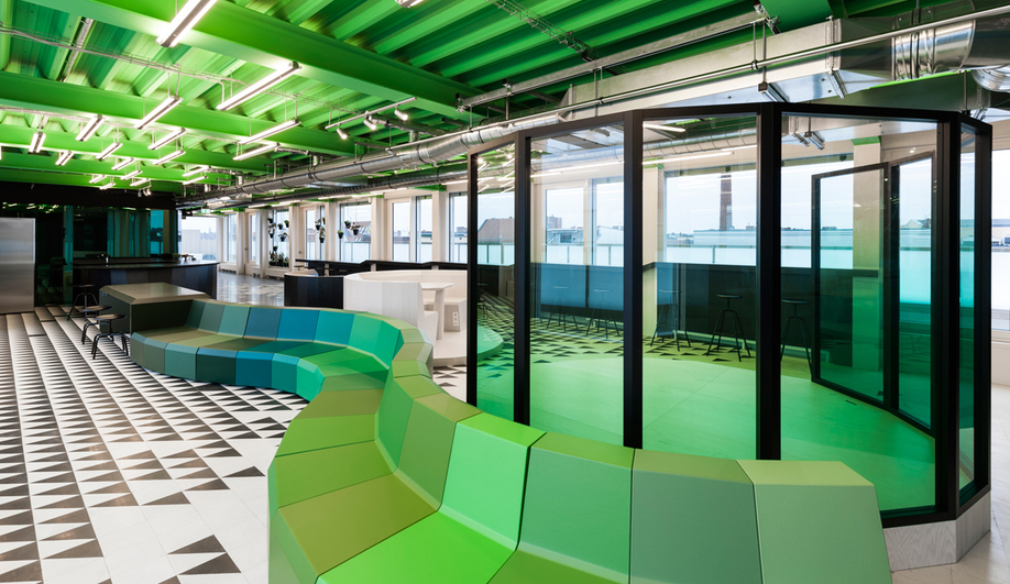 Gonzalez Haase AAS designed the offices for FischerAppelt.