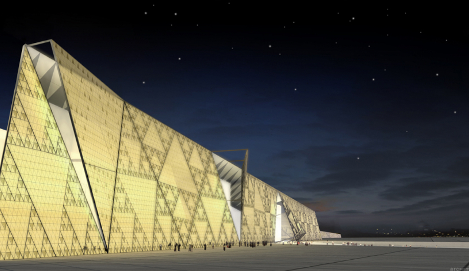 The Grand Egyptian Museum by Heneghan Peng Architects is one of our 10 Buildings to Watch in 2018.