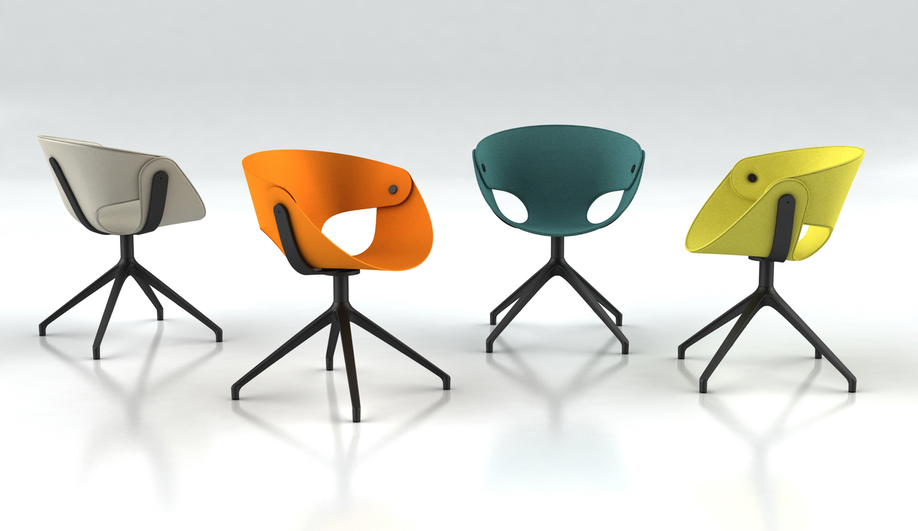 Fl@t Chair by Tonon at IMM Cologne 2018