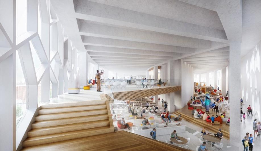 Calgary New Central Library by Snøhetta