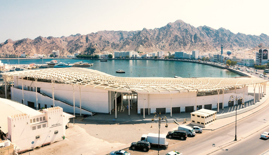 Snøhetta's Muttrah Fish Market Links the City, Mountains and Sea