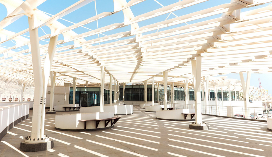 The Muttrah Fish Market in Oman was designed by Snøhetta.