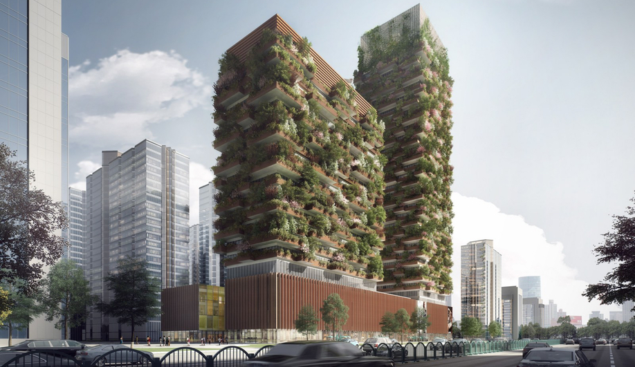 Ninjing Green Towers by Stefan Boeri is one of our 10 Buildings to Watch in 2018.