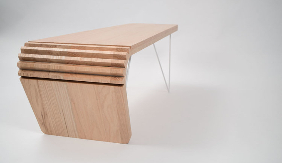 Justin Bailey Design's Kerf table