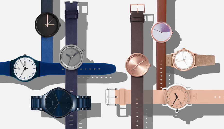 8 Blue and Pink Watches Design Lovers Will Adore