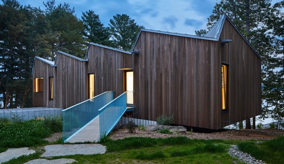 A Sawtooth Roof Defines This Net Zero House in Ontario