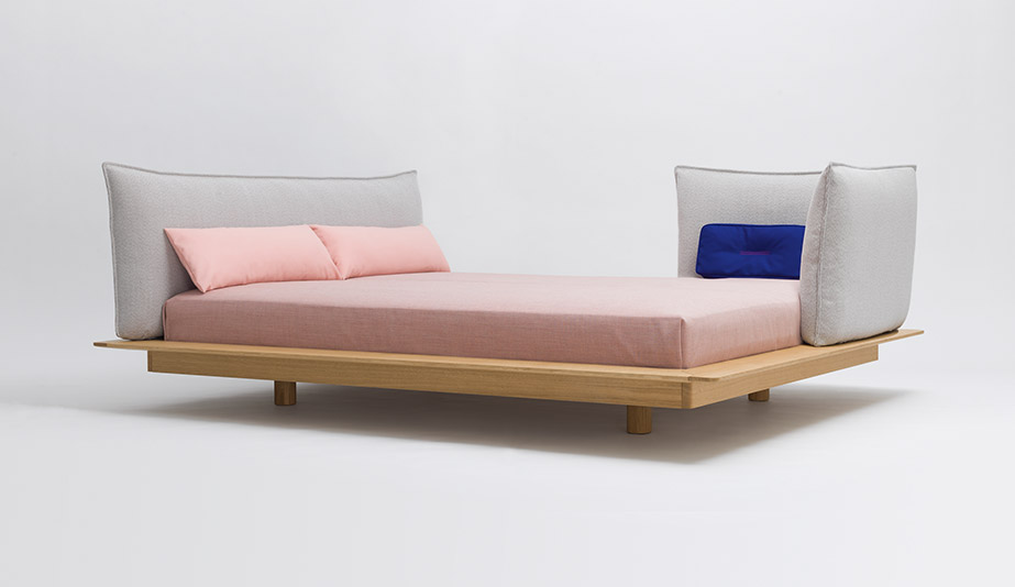 Yoma Bed by Zeitraum