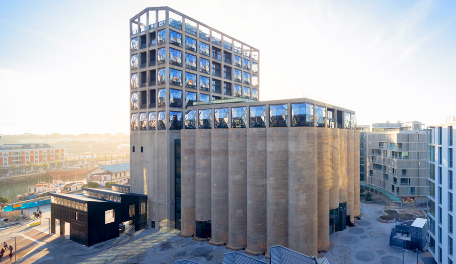 The Zeitz MOCAA Places African Art in a Cathedral of Grain Silos