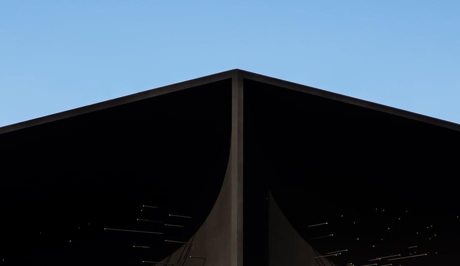 Asif Khan's Vantablack Olympic pavilion.