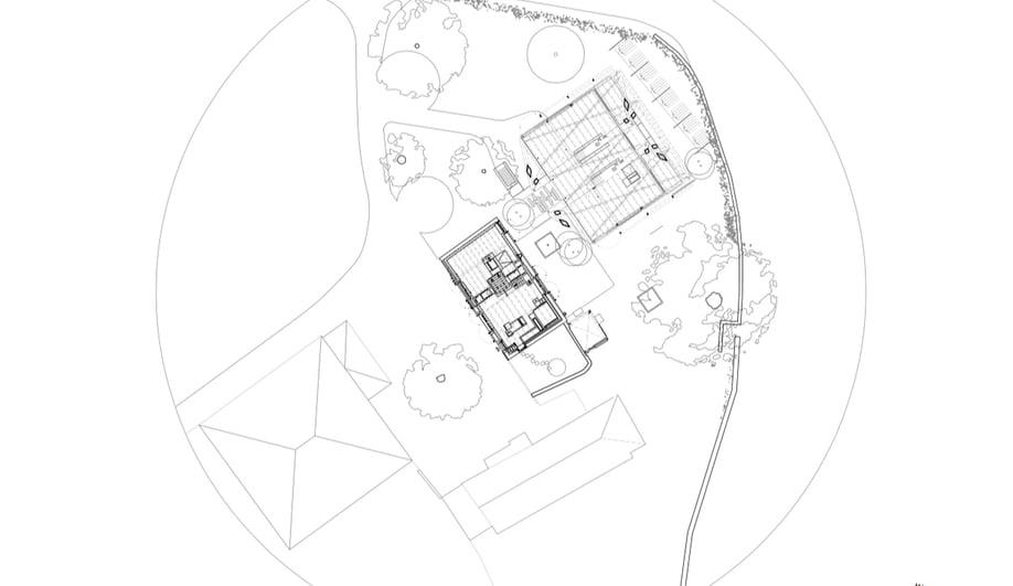 Site map of a Dieter Dietz vineyard restoration.