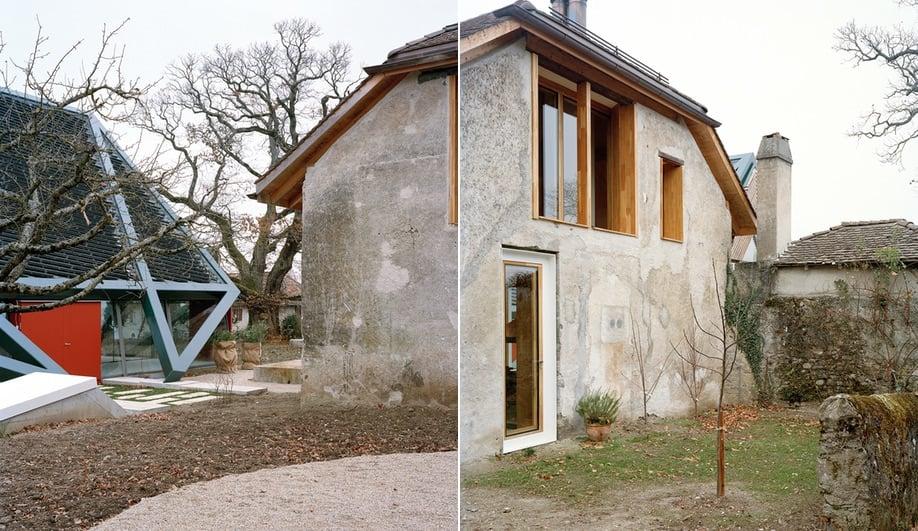 The press house in a Dieter Dietz vineyard restoration