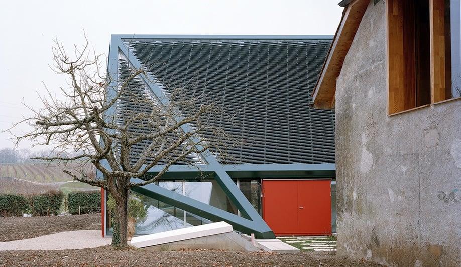 The Grange at a Dieter Dietz vineyard restoration.