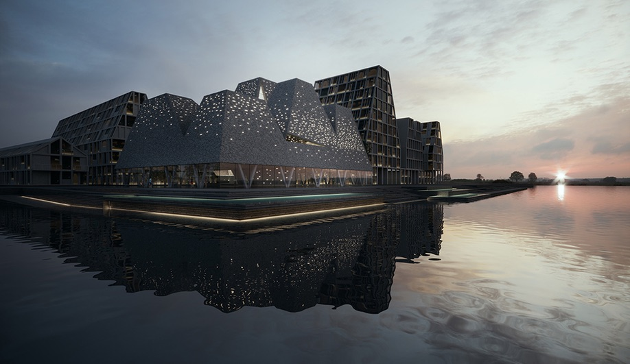 New Aquatics Centre, by Kengo Kuma and Associates. We ask: Are these architectural photos real or renderings?
