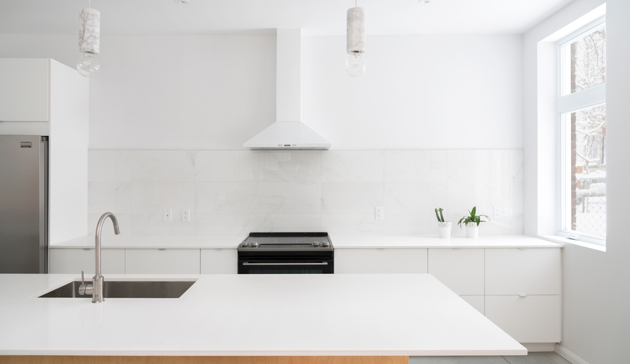 L'Abri's kitchen renovation for a house in Montreal's Plateau neighbourhood.