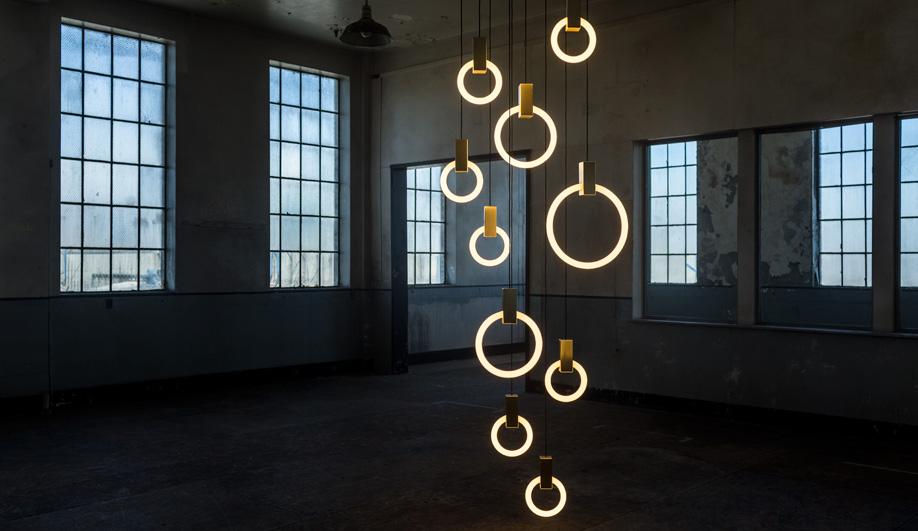 Vancouver designer Matthew McCormick's Halo lights.