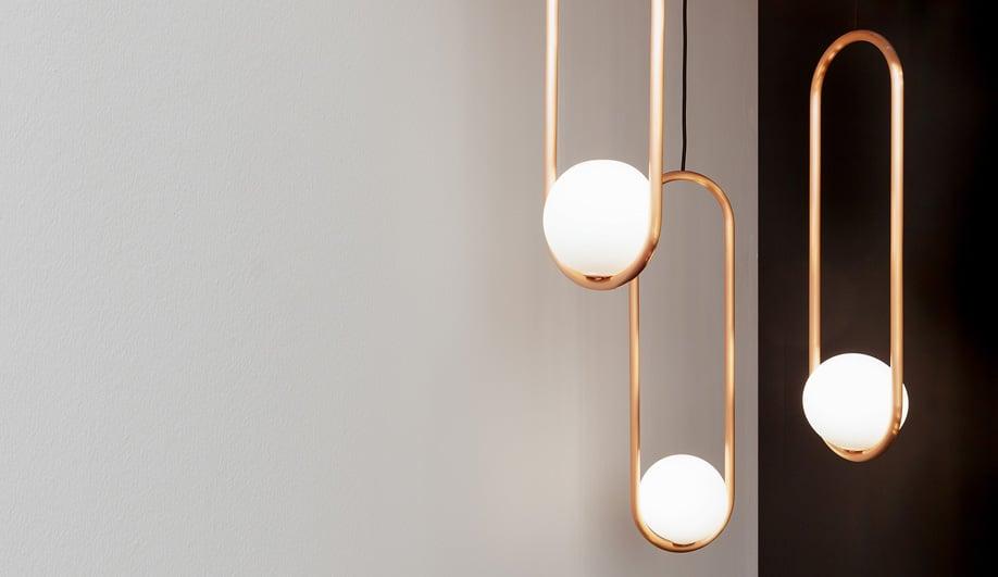 Vancouver designer Matthew McCormick's Mila pendants.
