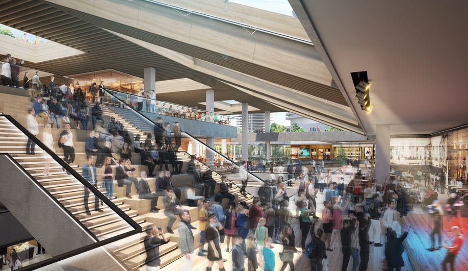 Vancouver's Oakridge Centre will be both a retail and residential hub.