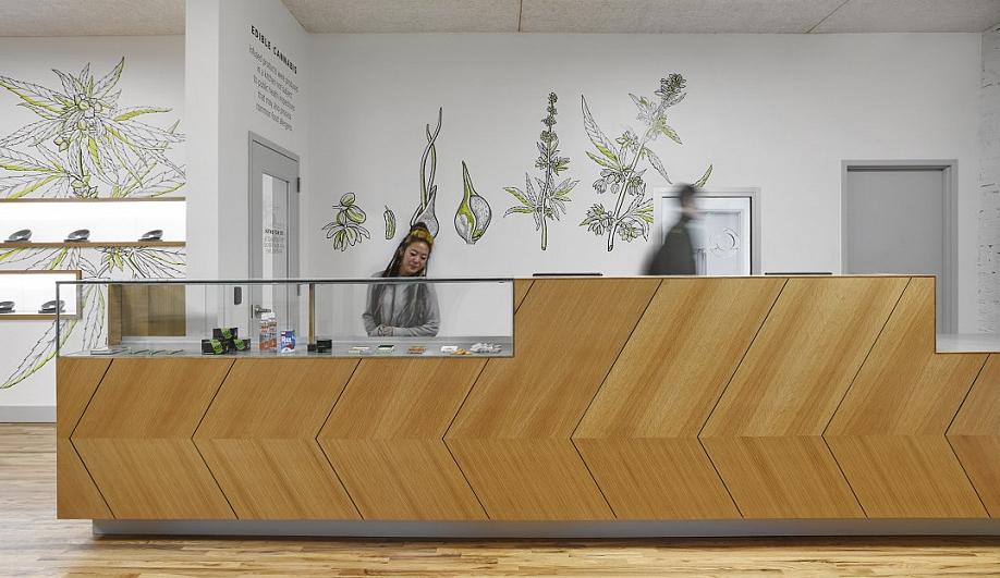 Pot dispensary design: Chicago's Dispensary 33