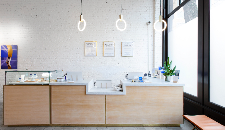 Pot dispensary design: Portland's Serra