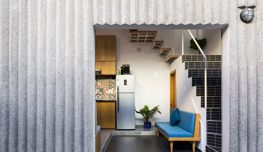 18 Houses Cladding Lends A Rare Fluidity To Terrazzo