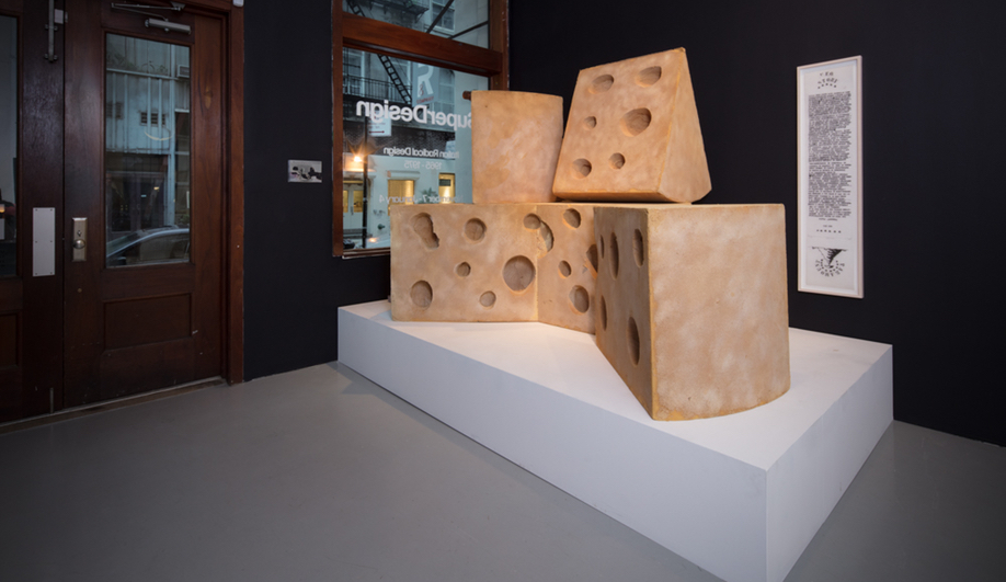 Lapo Binazzi's Formaggio, and example of Italian Radical Design.