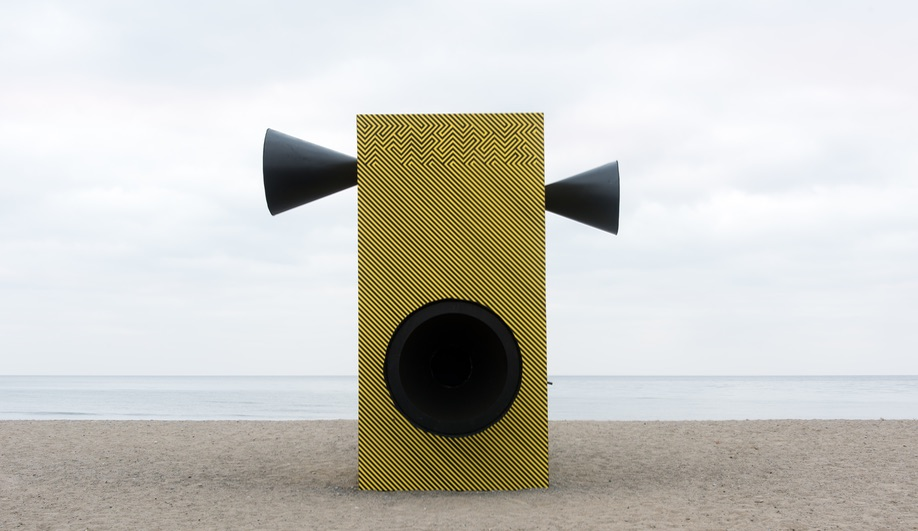 Make Some Noise!!!, by Alexandra Grieß & Jorel Heid, is one of the 2018 Winter Stations.