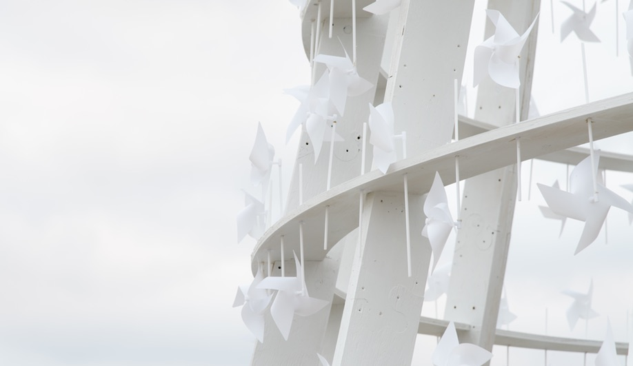Wind Station by Paul van den Berg and Joyce de Grauw is one of the 2018 Winter Stations