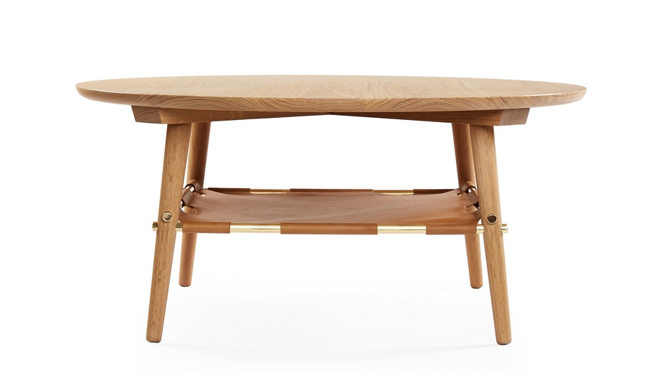 Contemporary Canadian-Made Wood Furniture: Caribou table by Charuk & Ford