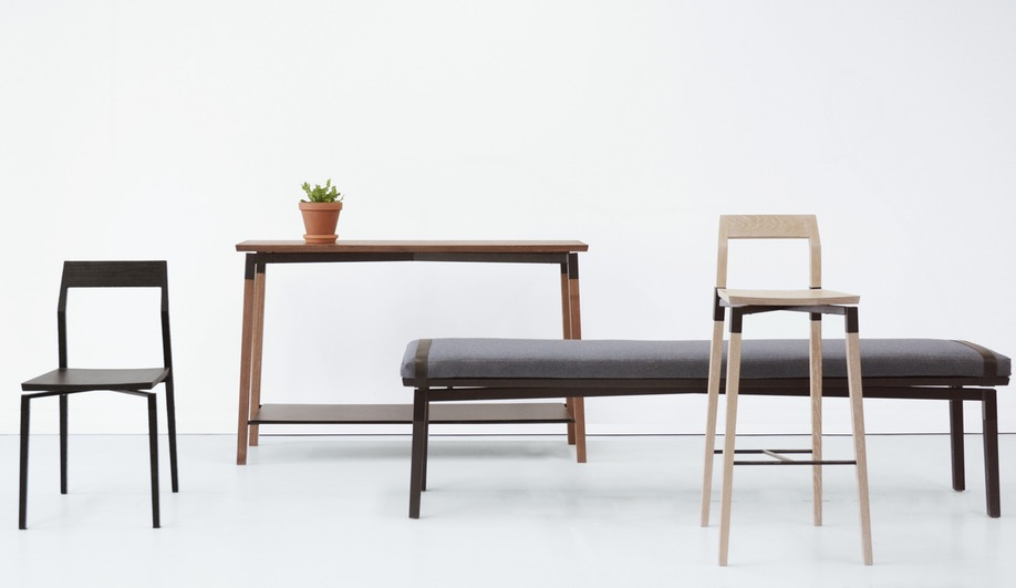Contemporary Canadian-Made Wood Furniture: Parkdale by Hollis & Morris