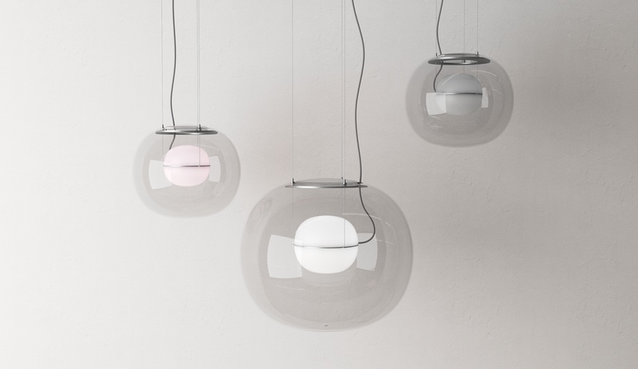 Light + Building 2018: Big One and Small One by Lucie Koldova for Brokis