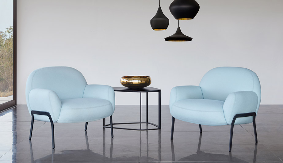 Kashan Lounge Chair by Bernhardt Design