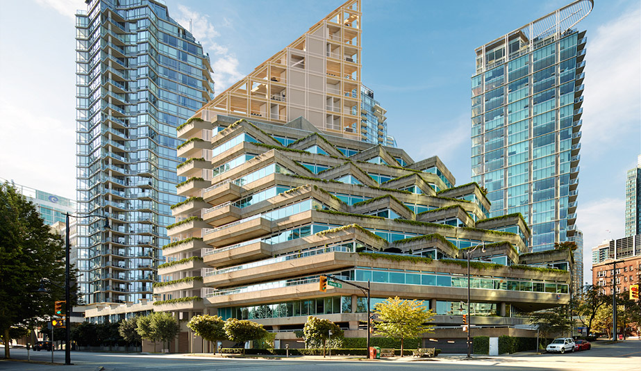 Rise of the green skyscraper: the Terrace House timber tower, by Shigeru Ban, is a plyscraper in Vancouver.