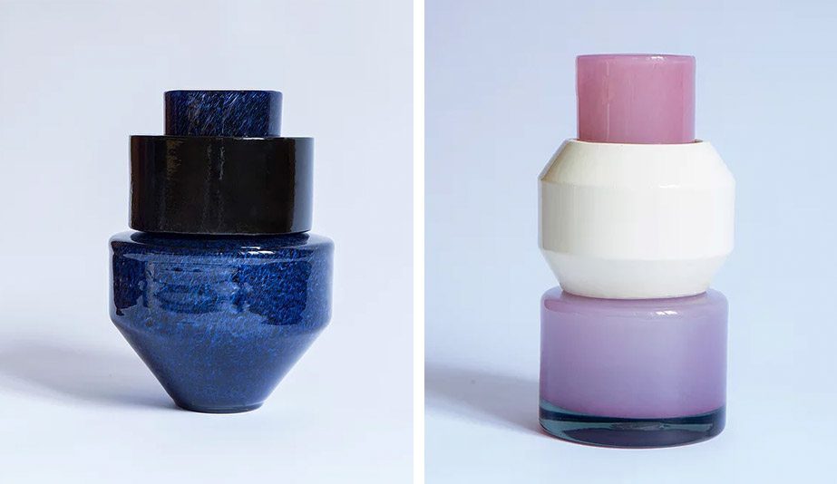Emerging female product designers: Marie-Victoire Winckler's Totem vases
