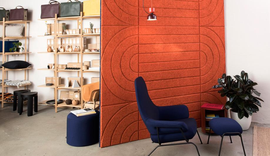 Arch Acoustic Panels by Baux