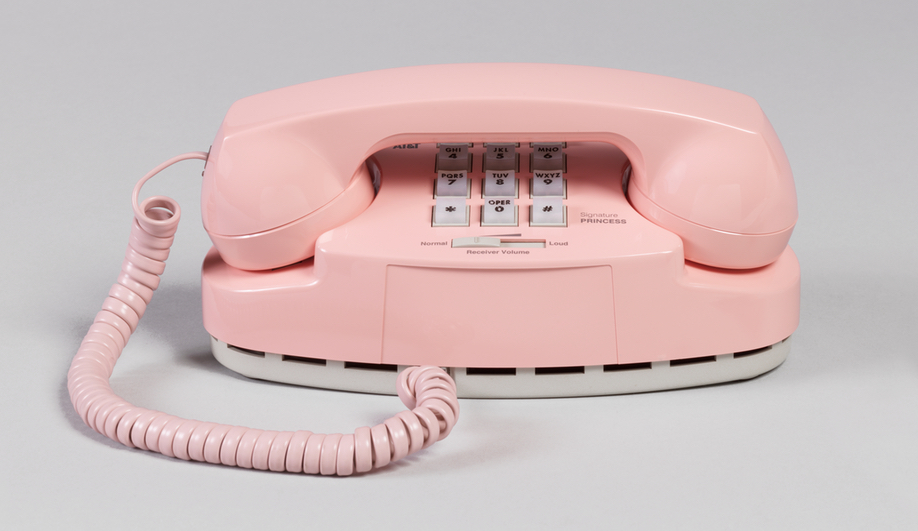 Saturated: The Allure and Science of Color: Henry Dreyfuss Associates, Signature Princess Telephone (1993)