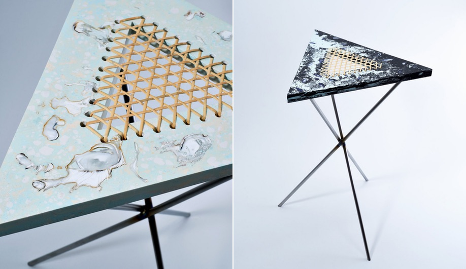 Emerging female product designers: Zuza Mengham's Oyster and Mussel tables