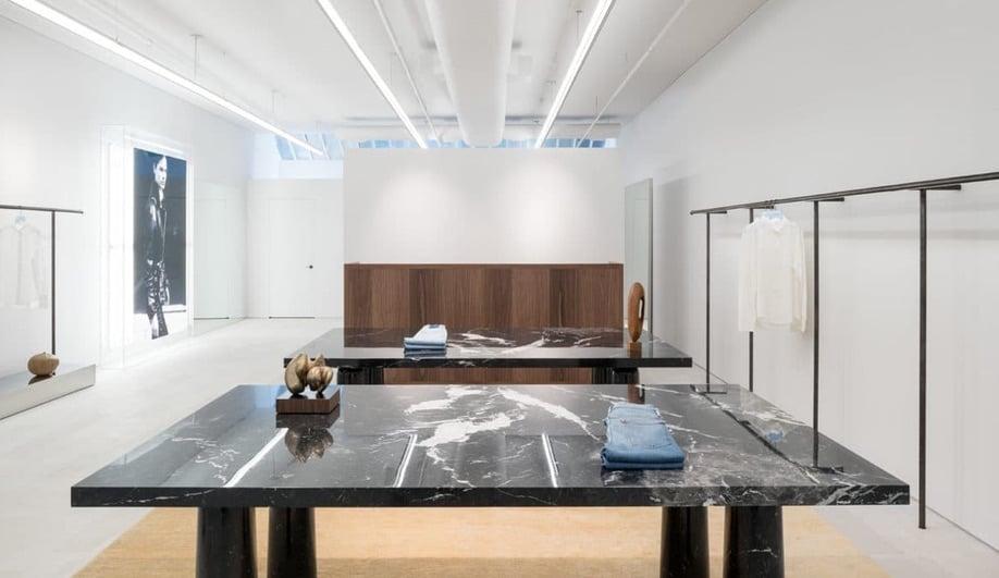 Minimalist Retail Interiors: Frame in Soho by Christian Halleröd