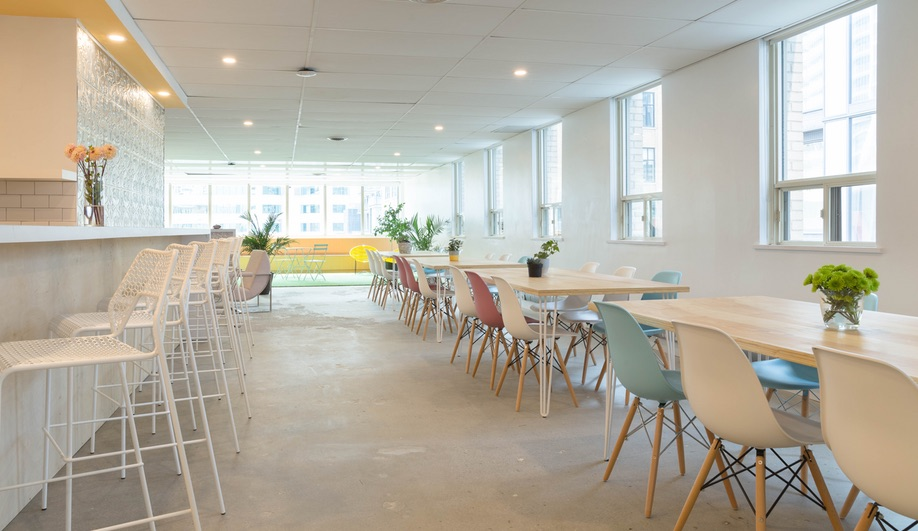 Make Lemonade, Toronto's coworking space for women, was designed by MMNT.
