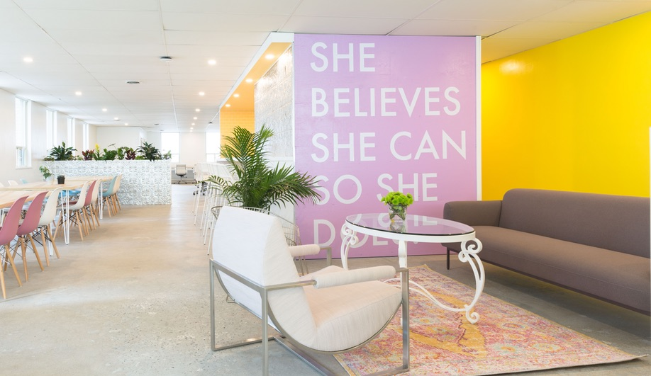 "Make Lemonade, Toronto's coworking space for women, has a motto; ""She believes she can, so she does."""