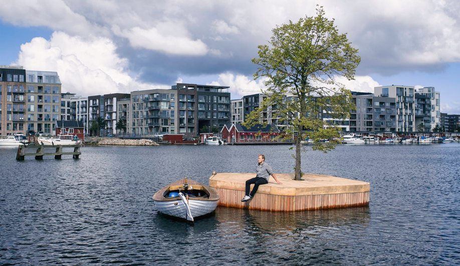 This Tiny Island in Copenhagen Harbour is the City's Newest Public Space