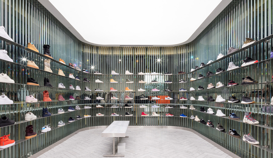 Minimalist Retail Interiors: Kith in Los Angeles by Snarkitecture
