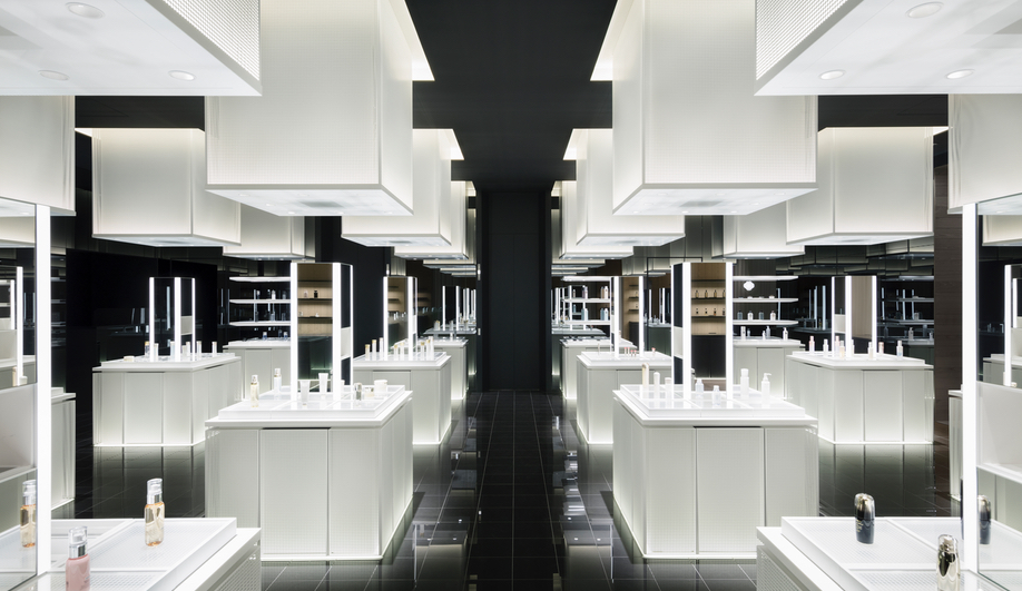 The Nendo Remake of the Shiseido Flagship is Proudly Cosmetic