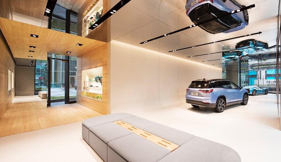 Schmidt Hammer Lassen's Nio House features a reflective ceiling.